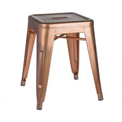 copper bedroom dressing stool