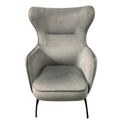 High Back velvet bedroom chair, velvet bedroom chair, bedroom chair, high back bedroom chair